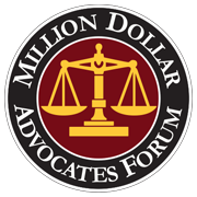 Million Dollar Advocates Forum Member
